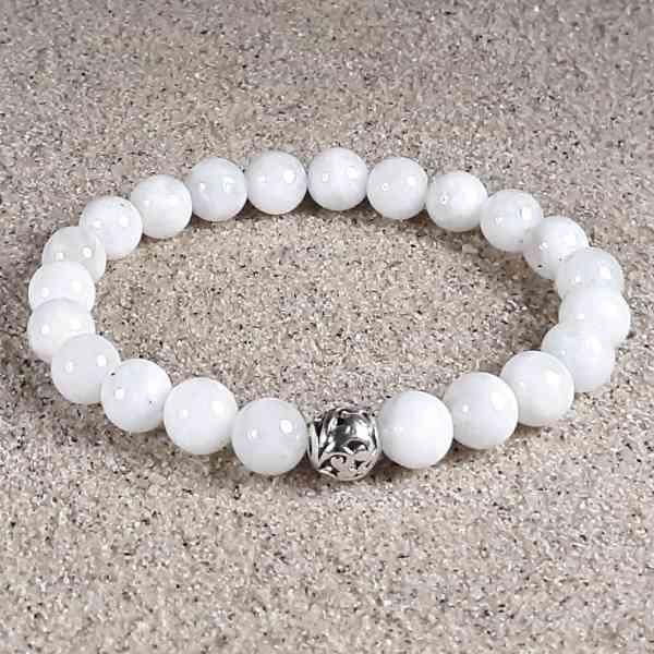 Moonstone Healing Energy Stretch Bracelet