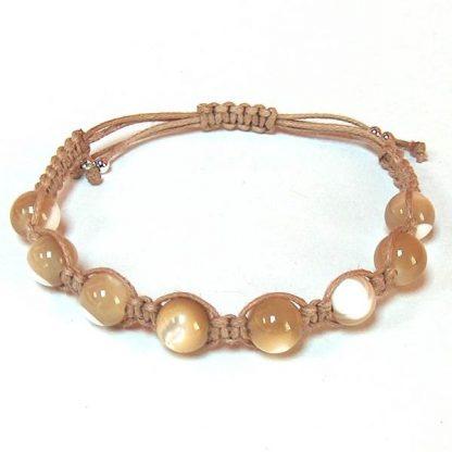 Mother of Pearl Healing Energy Bracelet