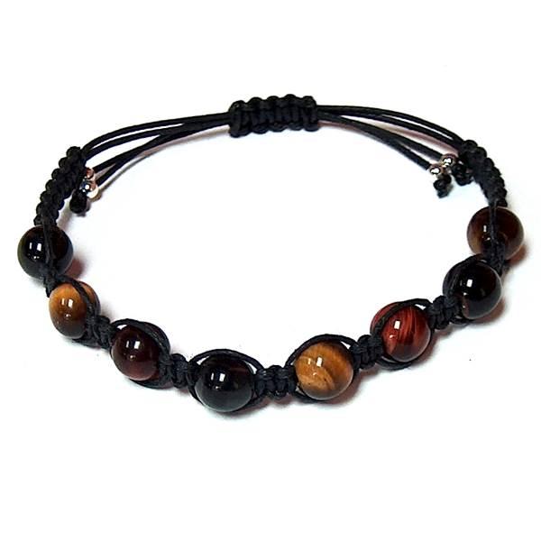 Multi Color Tiger Eye Healing Energy Bracelet