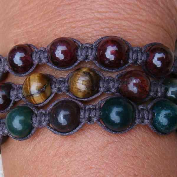 Mystic Zen Healing Energy Corded Bracelets