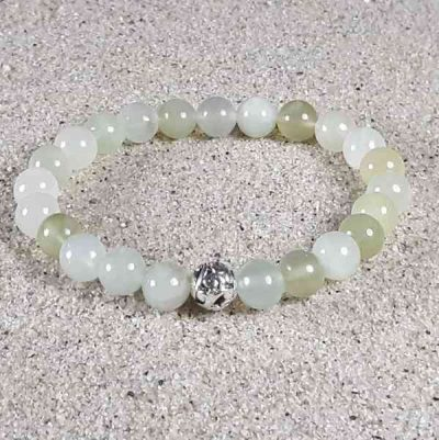 New Jade Healing Energy Stretch Bracelet