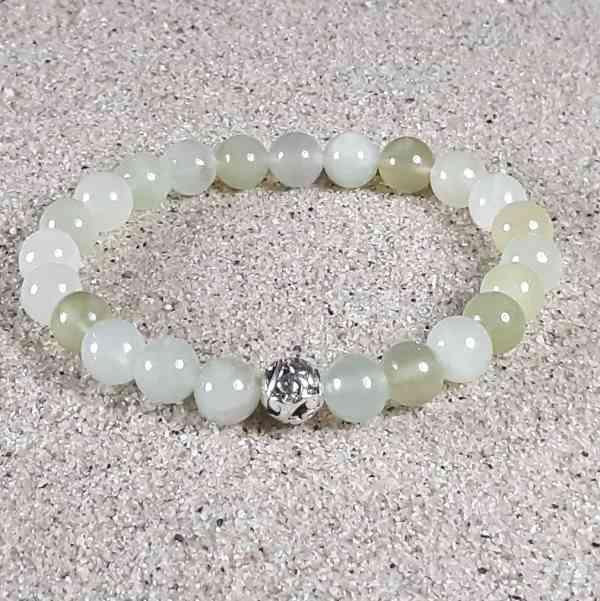 New Jade Healing Energy Stretch Bracelet