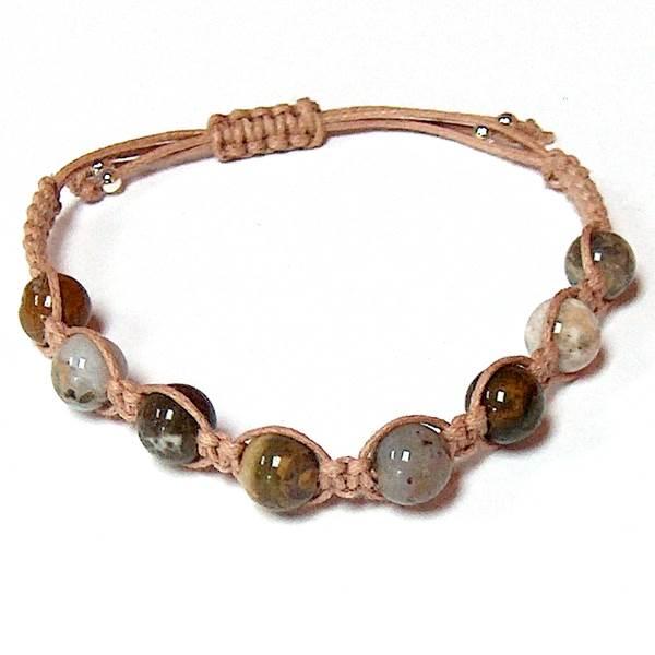 Ocean Jasper Healing Energy Bracelet