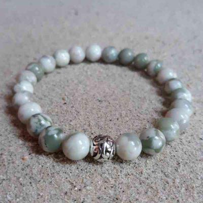 Peace Jade Healing Energy Stretch Bracelet