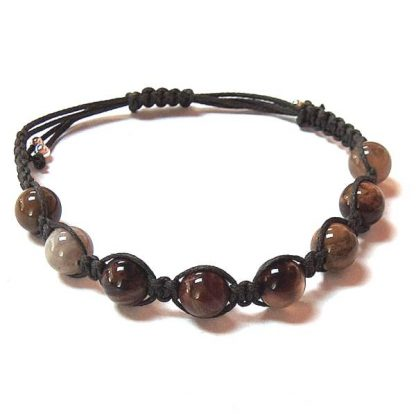 Petrified Wood Healing Energy Bracelet