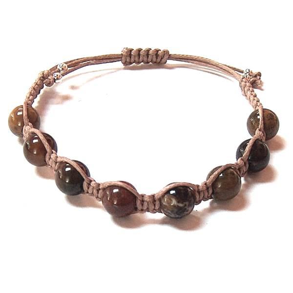 08b67fc72bd Petrified Wood Bracelet | Mystic Zen Healing Energy Jewelry ...