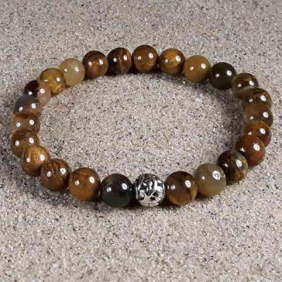 Pietersite Healing Energy Stretch Bracelet
