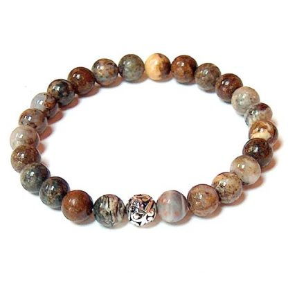 Pietersite Healing Energy Stretch Bracelet