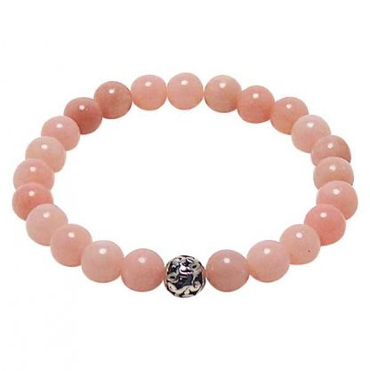 Pink Opal Healing Energy Bracelet (stretch)