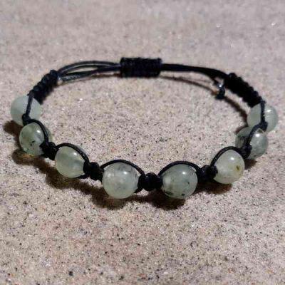 Prehnite Healing Energy Bracelet