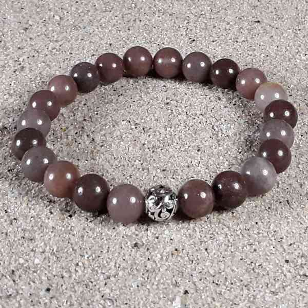 Purple Aventurine Healing Energy Stretch Bracelet