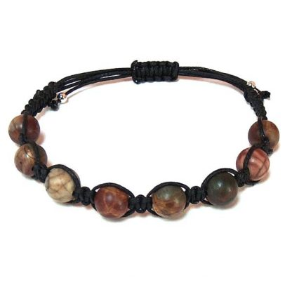 Red Creek Jasper Healing Energy Bracelet