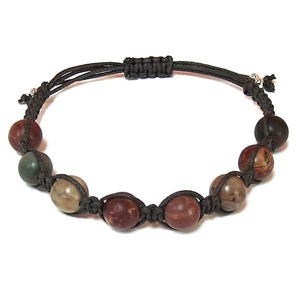 Red Creek Jasper Healing Energy Bracelet