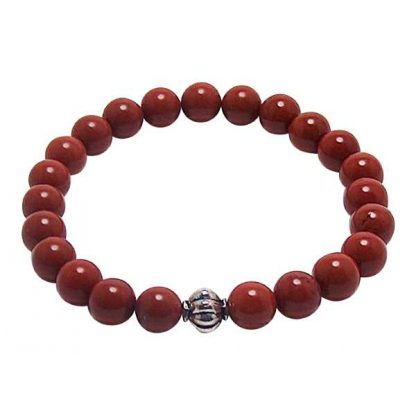 Red Jasper Healing Energy Bracelet (stretch)