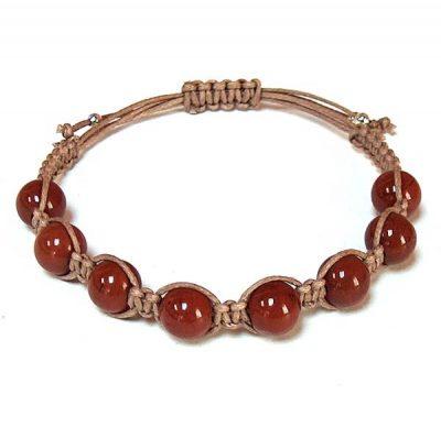 Red Jasper Healing Energy Bracelet