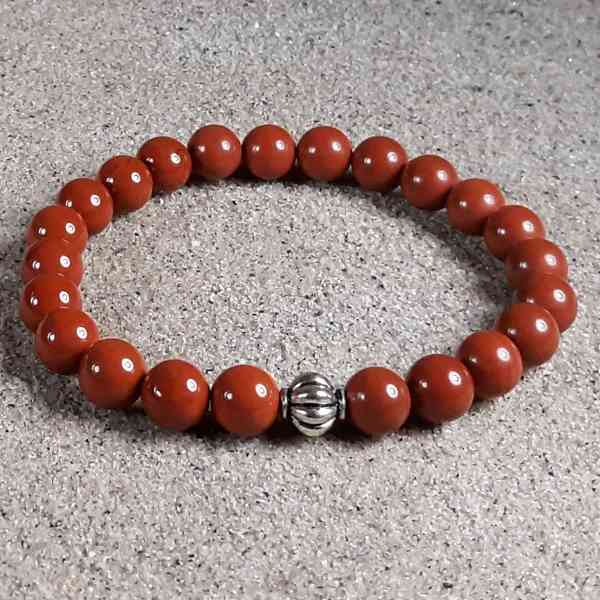 Red Jasper Healing Energy Stretch Bracelet