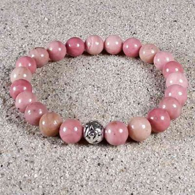 Rhodonite Healing Energy Stretch Bracelet