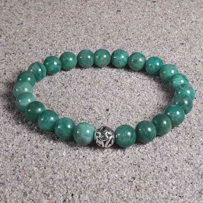 Russian Amazonite Healing Energy Stretch Bracelet