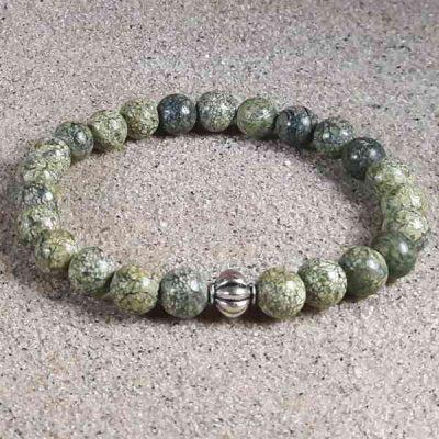 Russian Serpentine Healing Energy Stretch Bracelet
