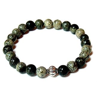 Russian Serpentine Healing Energy Stretch Bracelet