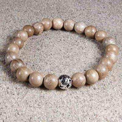 Sandalwood Healing Energy Stretch Bracelet