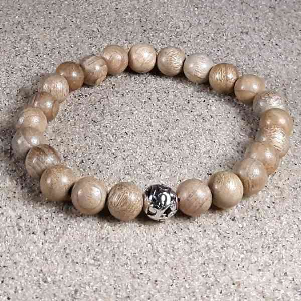 Sandalwood Healing Energy Stretch Bracelet