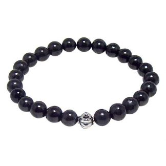 Shungite Healing Energy Bracelet (stretch)