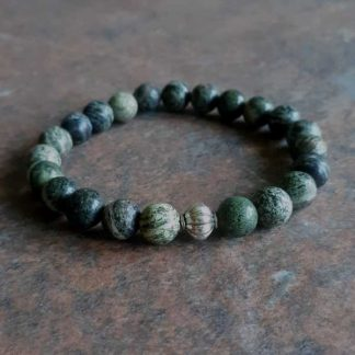 Silver Eye Serpentine Healing Energy Stretch Bracelet