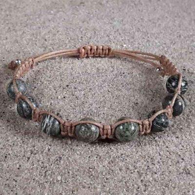 Silver Eye Serpentine Healing Energy Bracelet