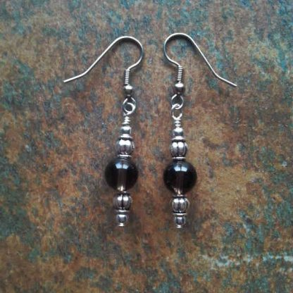 Smoky Quartz Earrings