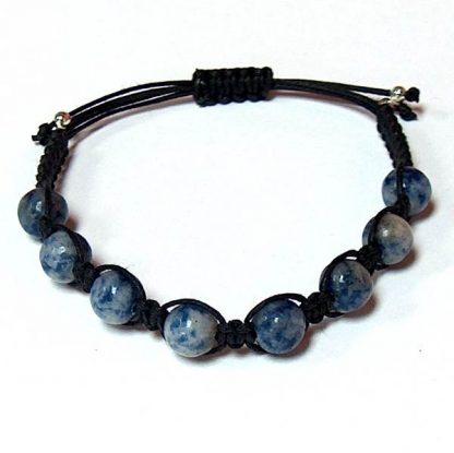Denim Sodalite Healing Energy Bracelet