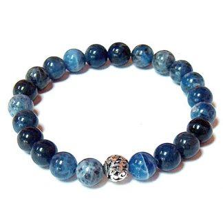Sodalite Healing Energy Stretch Bracelet