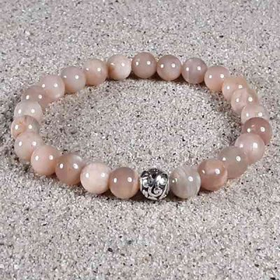Sunstone Healing Energy Stretch Bracelet