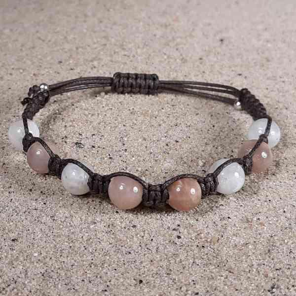 Sunstone & Moonstone Healing Energy Bracelet