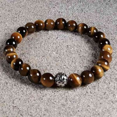 Tiger Eye Healing Energy Stretch Bracelet