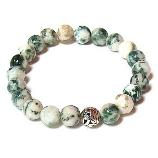 Tree Agate Healing Energy Stretch Bracelet