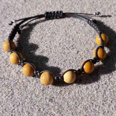 Yellow Mookaite Healing Energy Bracelet